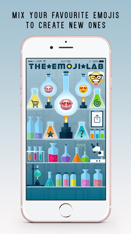 The Emoji Lab Plus - Mix and combine your favourite emojis