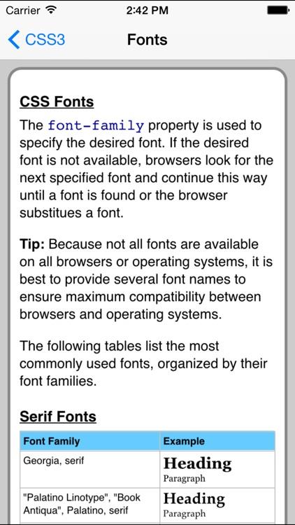 CSS3 Pro FREE screenshot-4