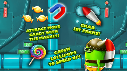 モンスタージャンプレース - スマッシュキャンディ工場ジャンピングゲームのおすすめ画像3