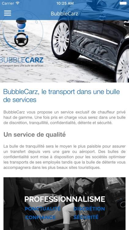BubbleCarz - Chauffeur Privé VTC screenshot-3