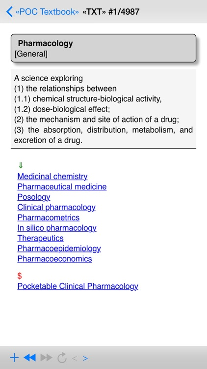 Pocketable Clinical Pharmacology Free screenshot-3