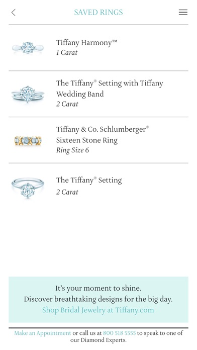Tiffany Co Ring Finder App Store revenue download estimates US