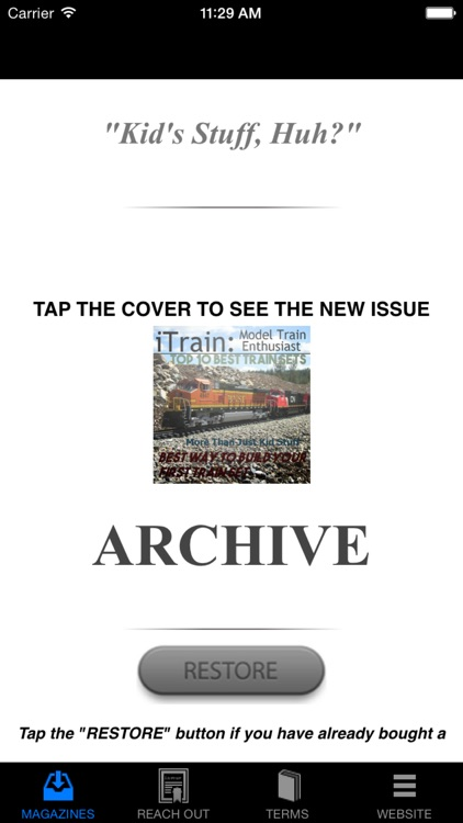 iTrain: Model Train Magazine screenshot-3