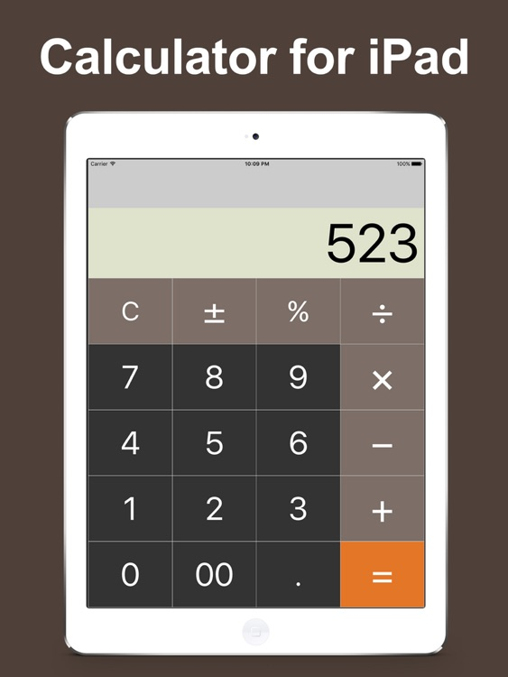 Calculator for iPad - Free calc app