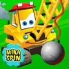 """Mika """"Boom"""" Spin - wrecking ball bulldozer for kids - iPhoneアプリ"""