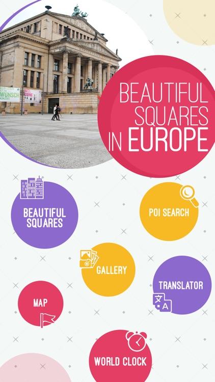 Beautiful Squares In Europe