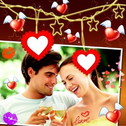 Love Frames and Photo Collage