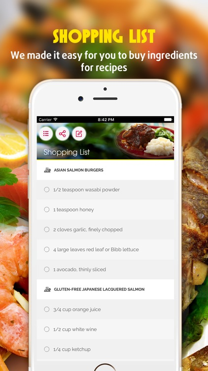 Yummy Fish & Seafood Recipes Pro screenshot-2