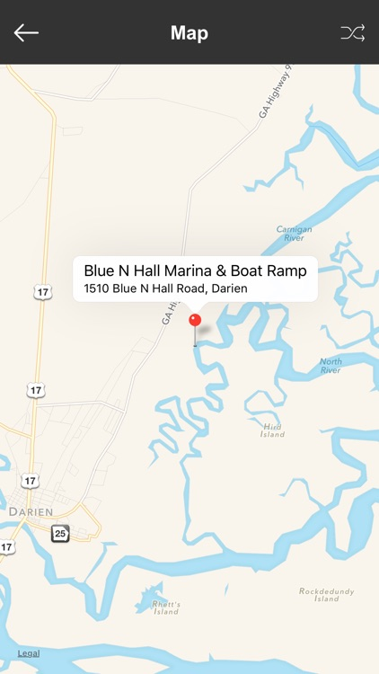 Georgia Boat Ramps & Fishing Ramps screenshot-3