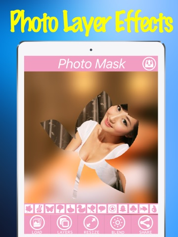 Photo Layer Effects Free App - Mask charlotte Filter Effect On Camera Photos-ipad-1