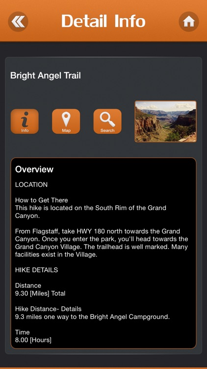 Hiking in Grand Canyon National Park screenshot-2