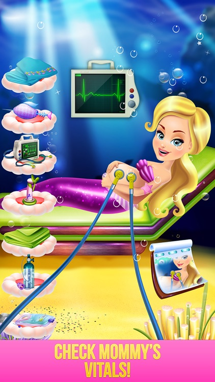 Mermaid Baby Hospital - Crazy Doctor Salon & Spa