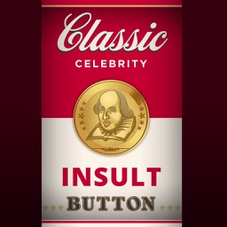 Classic Celebrity Insult Button™ Shakespeare Edition