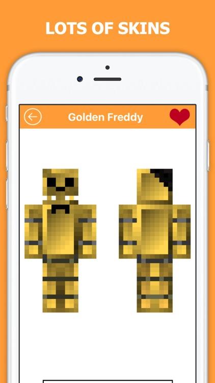 FNAF Skins PE - Free skin for Minecraft Pocket Edition