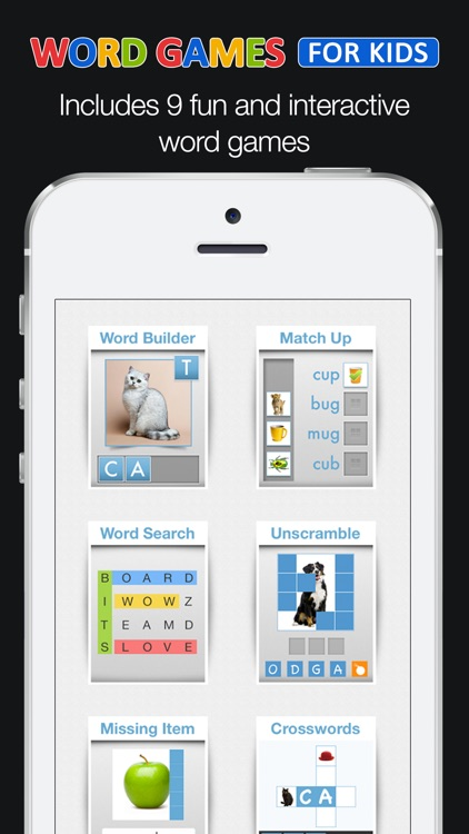 Word Games for Kids screenshot-0
