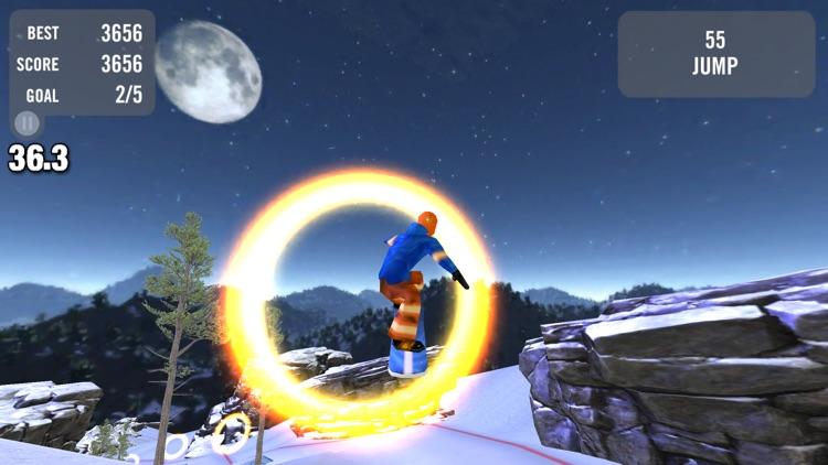 Crazy Snowboard screenshot-4
