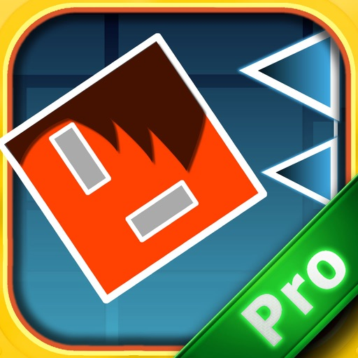 A Jumping Geometry Red PRO icon
