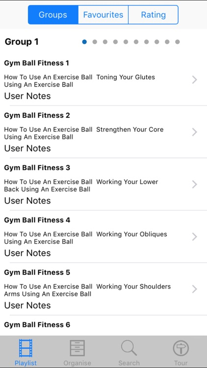 Gym Ball Fitness screenshot-1