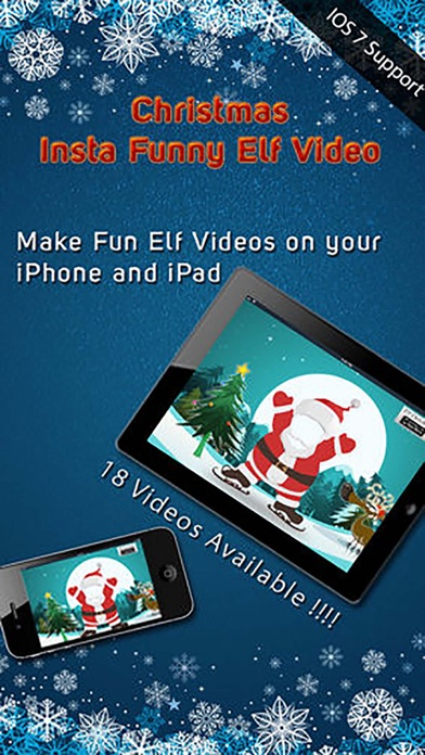 Christmas Insta Funny Elf Video - Make Fun Dancing Holiday Videos with Friends Pics by Wang Qi (iOS, United States) - SearchMan App Data & Information