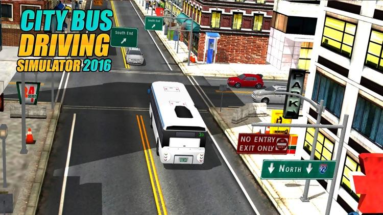 Real Modern city Bus driving simulator 3d 2016 - transport passengers through real city traffic