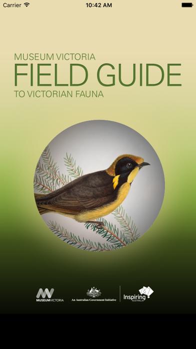 Field Guide to Victorian Fauna screenshot one