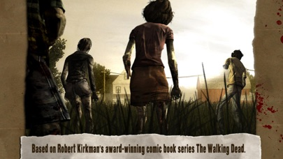 Screenshot from Walking Dead: The Game
