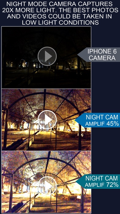 Night Mode Camera Photo, Video Screenshot