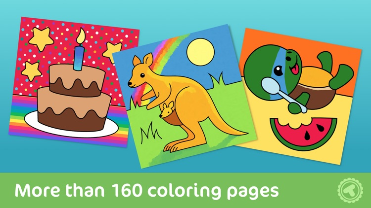 Toonia Colorbook - Educational Coloring Game for Kids & Toddlers screenshot-0
