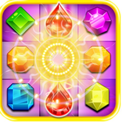 Jewels Lucky Deluxe: Match Gem Mania iOS App