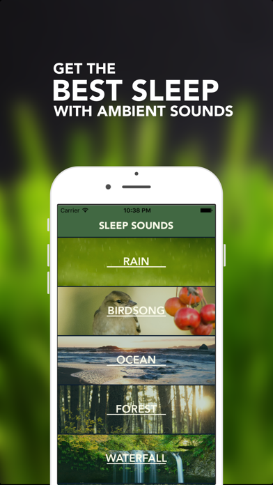 Sleep Sounds - Natural ambient sounds for relaxing &