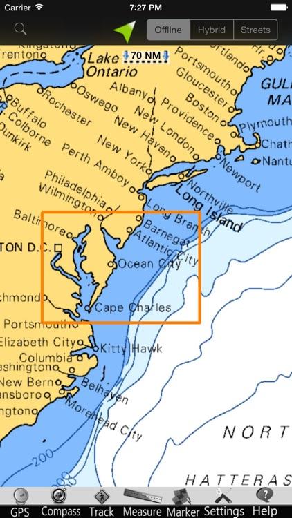Maryland GPS Nautical charts screenshot-4