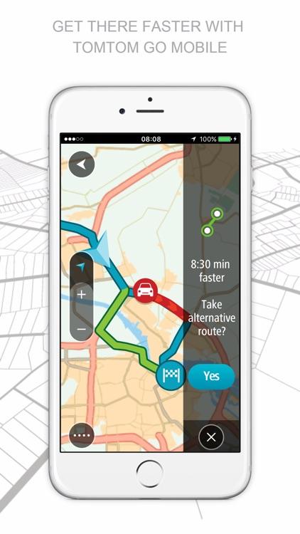 TomTom GO Mobile app image