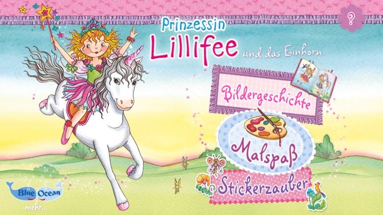 Prinzessin Lillifee und das Einhorn – Bildergeschichte, Malspaß, Stickerzauber screenshot-0