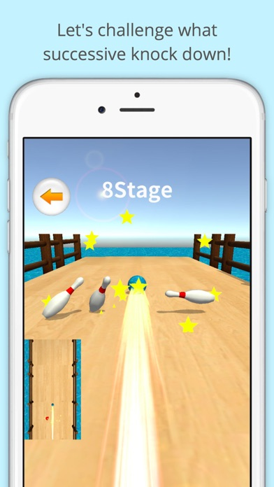 Infinity Bowling Puzzle screenshot two