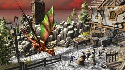 ドラゴンフューリーシミュレータ3D - 捕食者の復讐のフライトシミュレーションゲームのスクリーンショット1