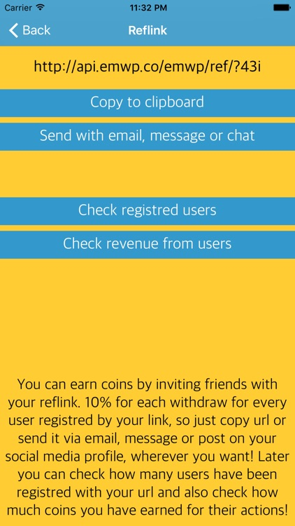 EMWP - Earn Money With Phone. Get free, additional pocket money screenshot-4