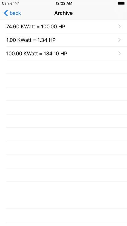 KWatt HP screenshot-3