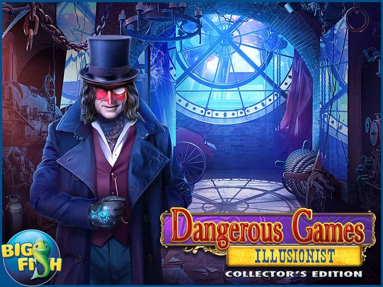 Dangerous Games: Illusionist HD - A Magical Hidden Object Mystery (Full) screenshot-4