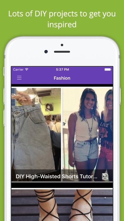 DIY Fashion Project Ideas Free - Handmade crafts