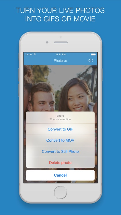 Photoive - Converter for Live Photo, GIF and MOV