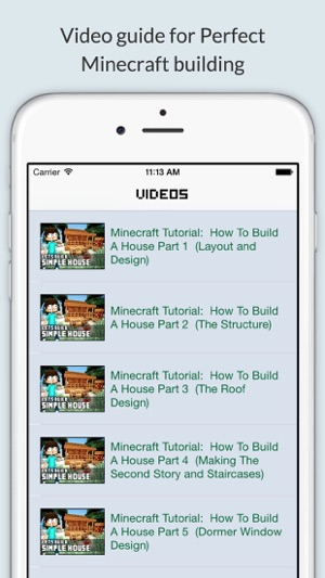 Perfect minecraft building house tips ideas guide for for Home building apps for iphone