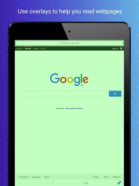 Dyslexia Browser HD