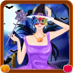 Halloween Costume Party Dress Up - Spa Salon Spooky Makeup & Makeover Kids Teens Dress Design Girls Game