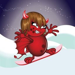 Devil Rush Free HD - Horror Snow.board.ing Party