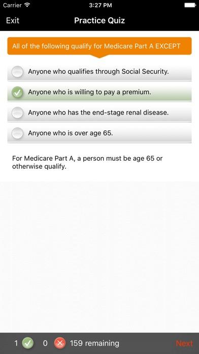 Screenshot for ExamFX Life & Health Exam Prep in United States App Store