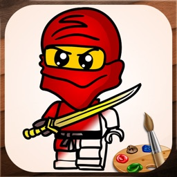 Pictures to Color for Lego Ninjago Full