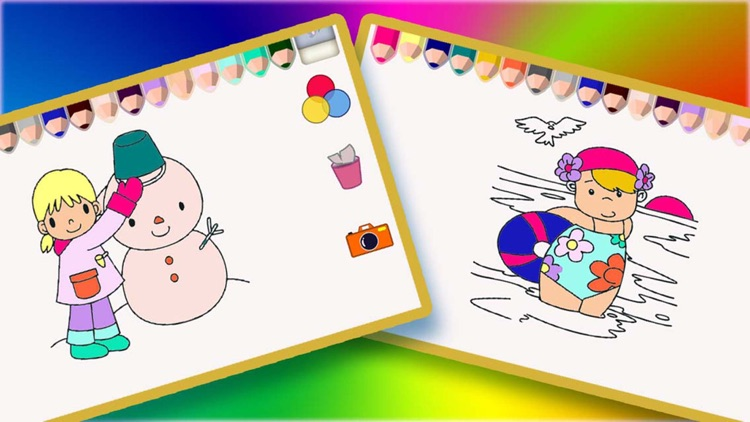Infantil colorear y libros para colorear - Dibujo y Doodle Four ...