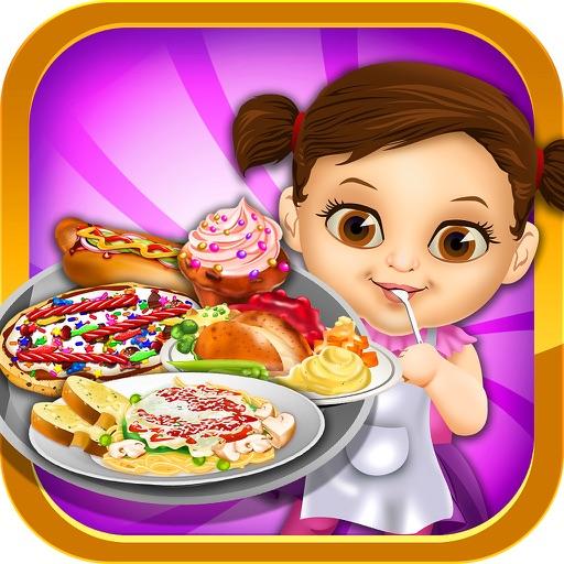 Crazy Dessert Food Maker Salon - School Lunch Making & Cupcake Make Cooking Games for Kids 2! iOS App