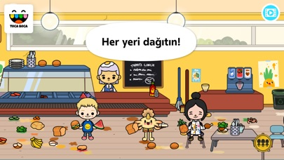 Screenshot for Toca Life: School in Turkey App Store