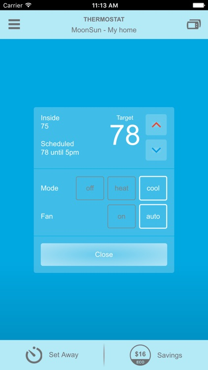 Smart Thermostat by NV Energy screenshot-3